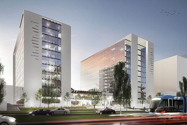 Business center Riga baltic bim management project