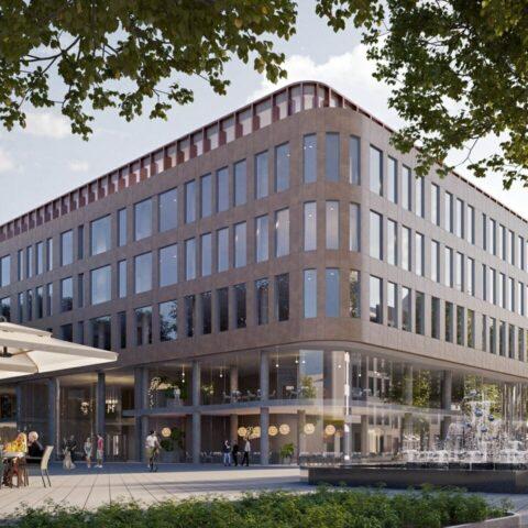"""Multifunctional Building """"Merkurijus"""""""